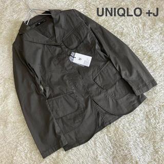 ジルサンダー(Jil Sander)の【新品タグ付き】UNIQLO +J ジルサンダー ビックフラップジャケット+(テーラードジャケット)