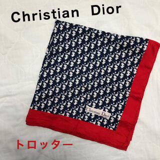 Christian Dior - Christian Dior スカーフ ハンカチ トロッター シルク100%