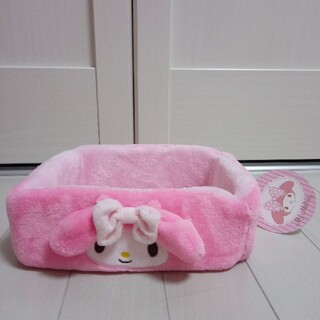 マイメロディ - 1144新品【マイメロディ ファー小物入れ】ピンク