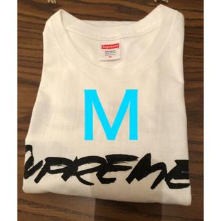 Supreme - Supreme Futura Logo Tee White M