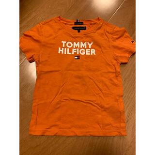 トミーヒルフィガー(TOMMY HILFIGER)のTOMMY HILFIGER キッズ コットン ロゴ Tシャツ100 (Tシャツ/カットソー)