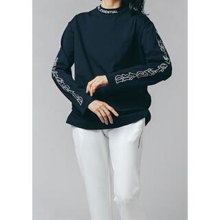 DOUBLE STANDARD CLOTHING - ダブスタ❣️希少割引❣️ ESSENTIAL ボックスシルエットロゴロンT
