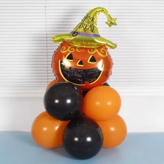 ハロウィンパーティー バルーン ジャックオーランタン ホームパーティ 飾り 風船