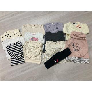 ムージョンジョン(mou jon jon)の女の子服 まとめ売り 90(その他)