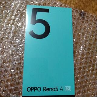 OPPO - OPPO Reno5 A シルバーブラック SIMフリー