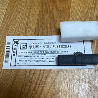 Kitamura - スタジオマリオ 撮影料・写真プリント1枚無料券