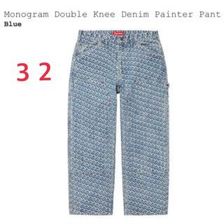 Supreme - Monogram Double Knee Denim Painter Pant