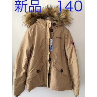 アウトドア(OUTDOOR)の新品 140  アウトドア  中綿 ジャケット アウター キャンプ キャンプ (ジャケット/上着)