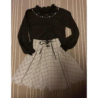 アンクルージュ(Ank Rouge)のankrouge アンクルージュ セーター&スカート(セット/コーデ)