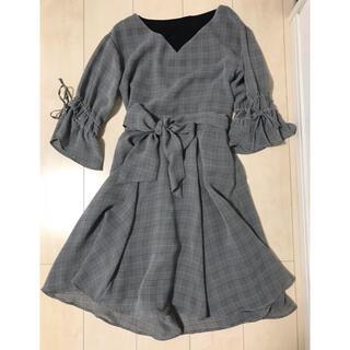PROPORTION BODY DRESSING - エアリーボイルチェックブラウス スカート セットアップ
