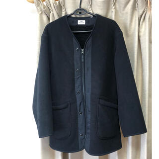 UNIQLO - ユニクロ Engineered Garments フリースノーカラーコート