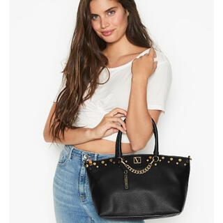 ヴィクトリアズシークレット(Victoria's Secret)の新作✨大人可愛い♡2wayバッグ VS 新品タグ付き ブラック(トートバッグ)