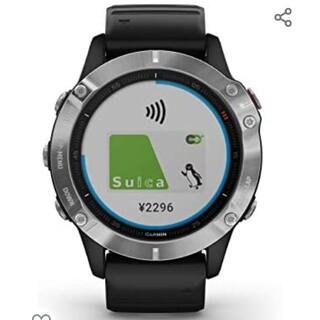 GARMIN - 新品未使用!ガーミン Fenix 6 ブラック マルチスポーツ対応 GPSウォッ