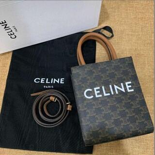 celine - CELINEミニ バーティカルカバ トリオンフ キャンバス