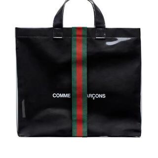 Gucci - グッチ x コムデギャルソン コラボ PVCトートバッグ GUCCI バッグ