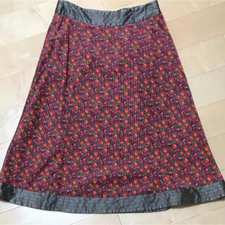 ローラアシュレイ(LAURA ASHLEY)のローラアシュレイ 花柄スカート 7 秋色(ひざ丈スカート)