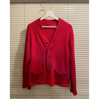 コモリ(COMOLI)のwildfaulein cardigan red(カーディガン)