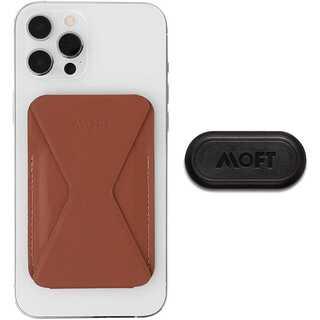 Magsafe対応 MOFT X iPhone12シリーズ等 ブラウン (モバイルケース/カバー)