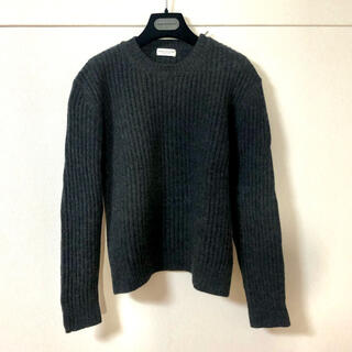 ドリスヴァンノッテン(DRIES VAN NOTEN)のドリスヴァンノッテン肩ジップ付きセーター(ニット/セーター)