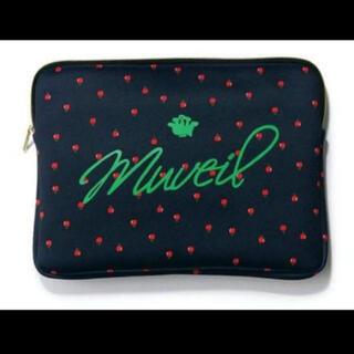 ミュベールワーク(MUVEIL WORK)のBAILA 10月号 付録 ミュベール×バイラ りんご柄ボンディングケース(ポーチ)