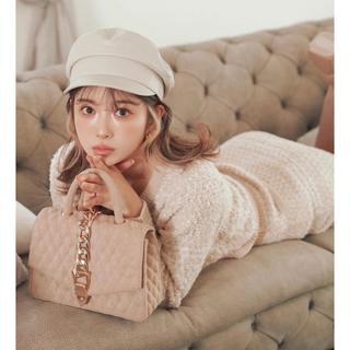エイミーイストワール(eimy istoire)のDarich♡大人気‼︎即完売品♡gold chain Bag♡beige(ハンドバッグ)