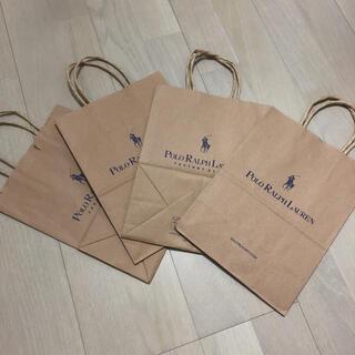 ポロラルフローレン(POLO RALPH LAUREN)の新品未使用✳︎ポロラルフローレン POLO RALTH LAUREN 紙袋 4枚(ショップ袋)