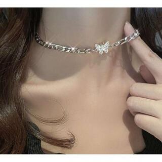 蝶々 ネックレス アクセサリー 個性的トレンド 韓国ファッション 送料無料