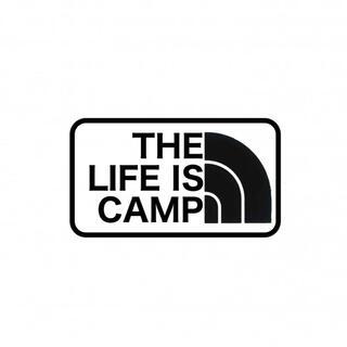 キャンプ アウトドア ステッカー 文字オーダー可(ライト/ランタン)