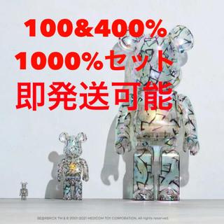 MEDICOM TOY - BE@RBRICK JIMMY CHOO セット1000% 400% 100%