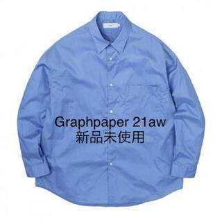 COMOLI - Graphpaper Broad Oversized Regular Shirt