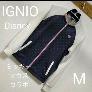 ディズニー(Disney)のIGNIOディズニーコラボ・ミッキーマウスジャージ上着・Mサイズ(その他)