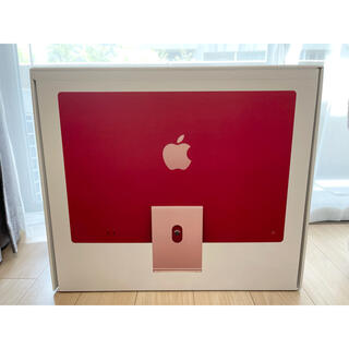 Apple - 【新品未使用品】Apple iMac 24 256GB 8GB ピンク