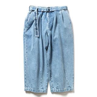ダブルタップス(W)taps)のTIGHTBOOTH DENIM BAGGY SLACKS BLUE XL(デニム/ジーンズ)