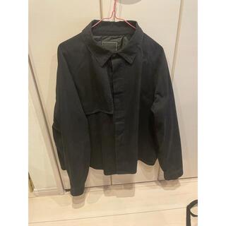 Jieda - unrelaxing トレンチシャツジャケット ブラック 定価12000円