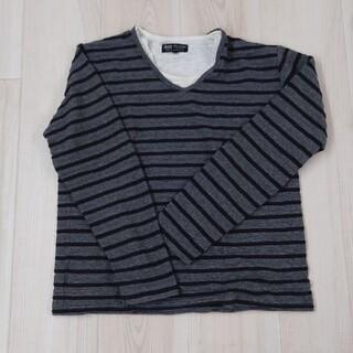 ビームス(BEAMS)の『送料込』BEAMS HEART ボーダー カットソー sizeL(Tシャツ/カットソー(七分/長袖))