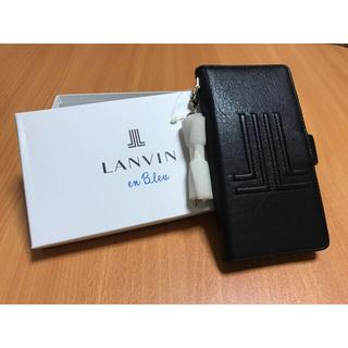 ランバン(LANVIN)のランバン LANVIN  多機種対応手帳型スマホケース(モバイルケース/カバー)