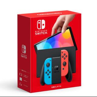 Nintendo Switch -   新型Switch  有機ELモデル ホワイト ネオン