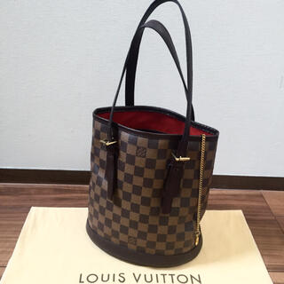 LOUIS VUITTON - 【極美品】正規品 ルイヴィトン マレ ダミエ バケット ショルダーバッグ