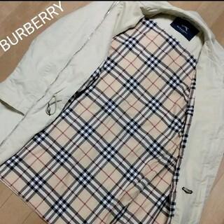 バーバリー(BURBERRY)のBURBERRY ビンテージ 裏地ノバチェック ジップアップステンカラーコート(その他)