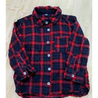 ムジルシリョウヒン(MUJI (無印良品))の無印 ネルシャツ チェックシャツ 秋服 冬服(ジャケット/上着)