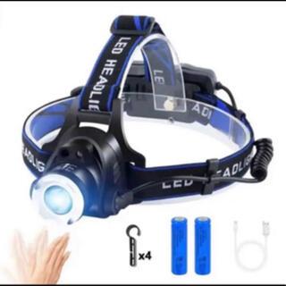 LEDヘッドライト usb充電式 LEDヘッドランプ アウトドア用ヘッドライト(ライト/ランタン)