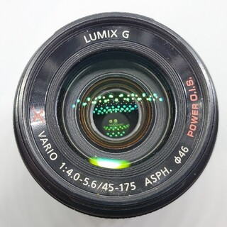 Panasonic - ほぼ新品 Panasonic G X VARIO PZ45-175mm ブラック