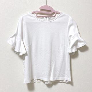 M-premier - M-PREMIER エムプルミエ トップス Tシャツ カットソー 花柄 レース