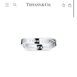Tiffany & Co. - TIFFANY ダブルリング 16号