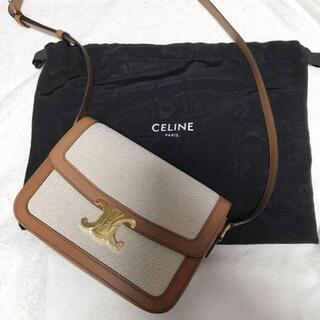 celine - CELINE ミディアムトリオンフバッグ