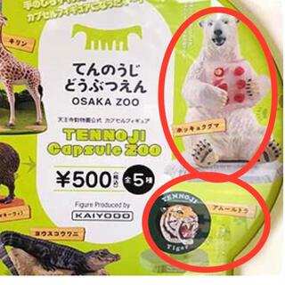 天王寺動物園 ガチャ ホッキョクグマ アムールトラ