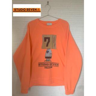 三代目 J Soul Brothers - ❗️完売品❗️STUDIO SEVEN 19SS スウェット オレンジ サイズM