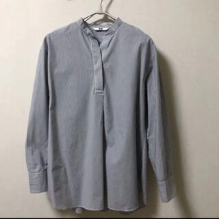 UNIQLO - ユニクロ シャツ(プルオーバーシャツ)