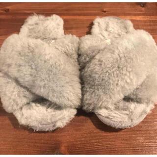 エミュー(EMU)のEMU Australia シープスキン サンダル US7(サンダル)