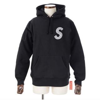 Supreme - supreme パーカー Sロゴ Mサイズ ブラック